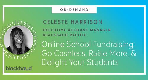 ▶️ Webinar: Online School Fundraising: Go Cashless, Raise Money, and Delight Your Students