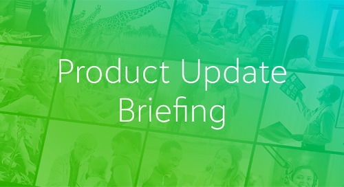 Product Update Briefings Registration is now live!
