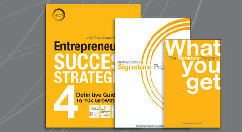 Strategic Coach Preview Package & Starter Kit