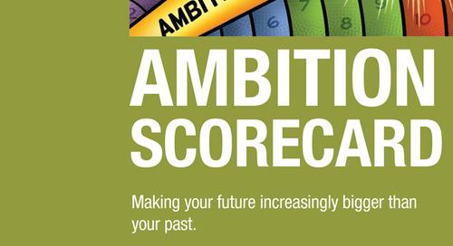 Ambition Scorecard