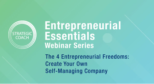 [Webinar] The 4 Entrepreneurial Freedoms: Create Your Own Self-Managing Company