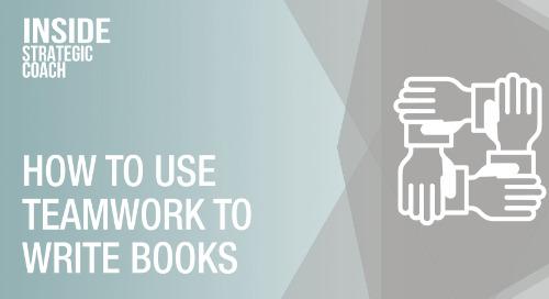 How To Use Teamwork To Write Books