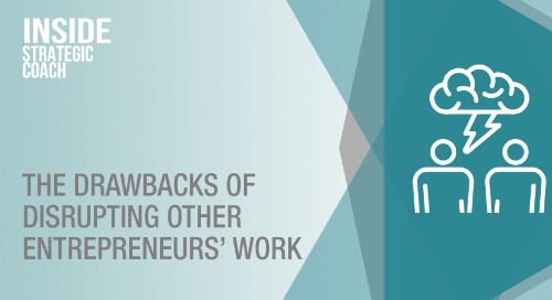 The Drawbacks Of Disrupting Other Entrepreneurs' Work