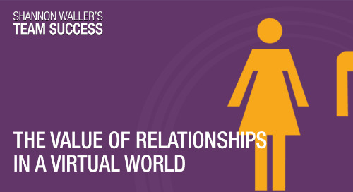 The Value Of Relationships In A Virtual World