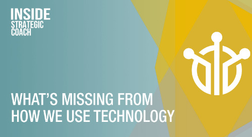 What's Missing From How We Use Technology