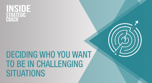 Deciding Who You Want To Be In Challenging Situations