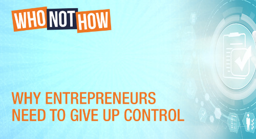 Why Entrepreneurs Need To Give Up Control