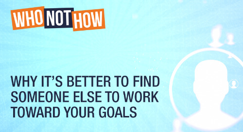 Why It's Better To Find Someone Else To Work Toward Your Goals
