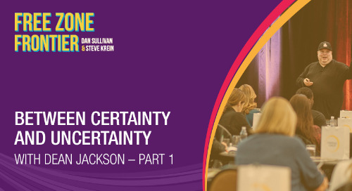 Between Certainty And Uncertainty with Dean Jackson • Part 1