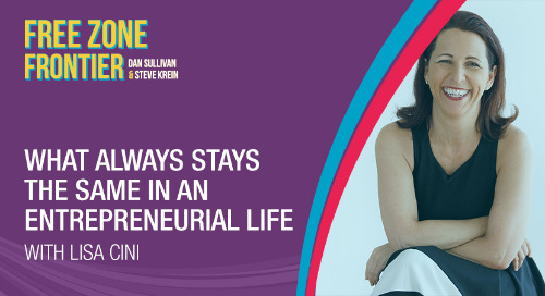 What Always Stays The Same In An Entrepreneurial Life with Lisa Cini