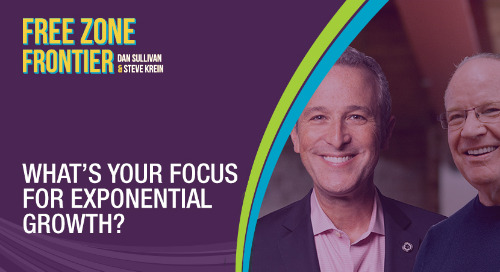 What's Your Focus For Exponential Growth?
