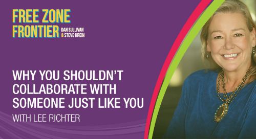 Why You Shouldn't Collaborate With Someone Just Like You with Lee Richter