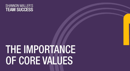 The Importance Of Core Values