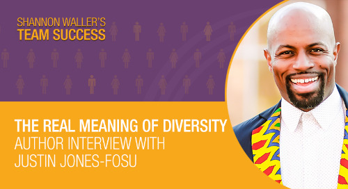 The Real Meaning Of Diversity — Author Interview With Justin Jones-Fosu