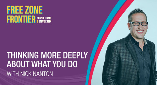 Thinking More Deeply About What You Do, with Nick Nanton