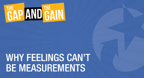 Why Feelings Can't Be Measurements