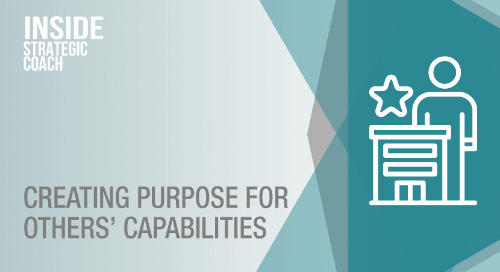 Creating Purpose For Others' Capabilities