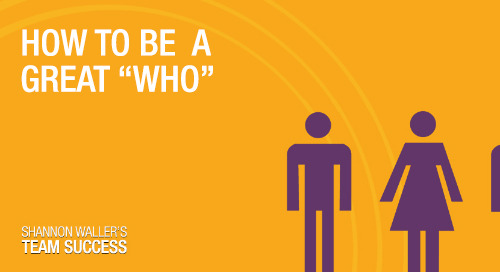 """How To Be A Great """"Who"""""""