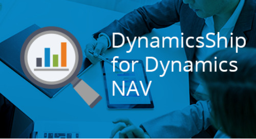 Robust Shipping with Seamless Integration to Microsoft Dynamics NAV