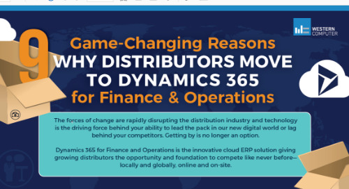 9 Game Changing Reasons Distributors Move to Dynamics 365 for Finance & Operations