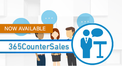 Distribution News: 365CounterSales for Dynamics 365 Now Available on AppSource
