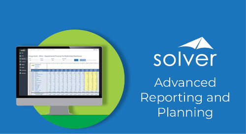 March 5: Accelerate Business Growth with Advanced Reporting and Planning from Solver Global