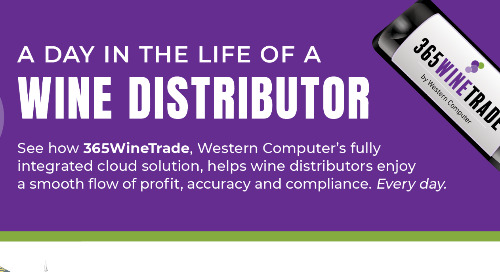A Day in the Life of a Wine Distributor: Infographic