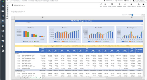 4 Ways Solver for Dynamics 365 Revolutionizes Reporting, Planning & Insight