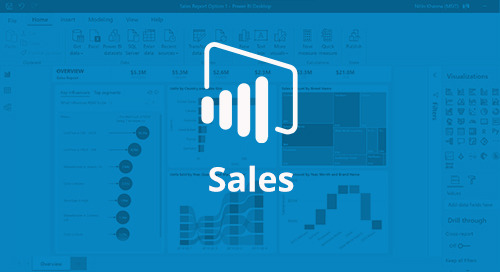 Power BI Interactive Report: Sales [D365 Business Central]