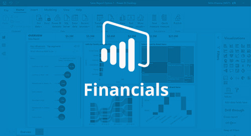 Power BI Interactive Report: Financials [D365 Business Central]