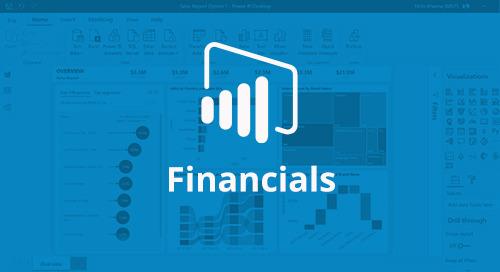 Power BI Interactive Report: Financials [D365 Business Central]