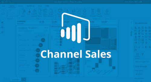 Power BI Interactive Report: Channel Sales [D365 Business Central]
