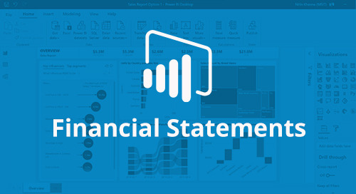 Power BI Interactive Report: Financial Statements [D365 Business Central]