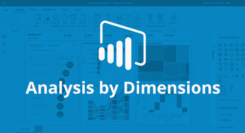 Power BI Interactive Dashboard: Analysis by Dimension [D365 Business Central]