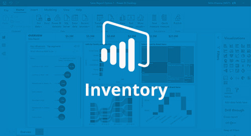 Power BI Interactive Dashboard: Inventory [D365 Business Central]