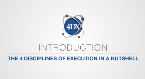 The 4 Disciplines Of Execution In A Nutshell