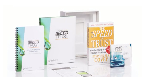 Overview: Speed of Trust