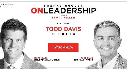On Leadership With Scott Miller: Episode #03 Todd Davis