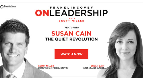On Leadership With Scott Miller: Episode #02 Susan Cain
