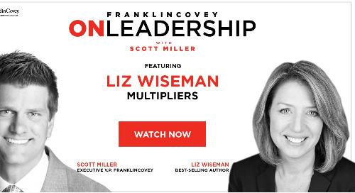 On Leadership With Scott Miller: Episode #04 Liz Wiseman