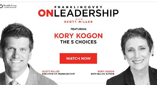 On Leadership With Scott Miller: Episode #05 Kory Kogon