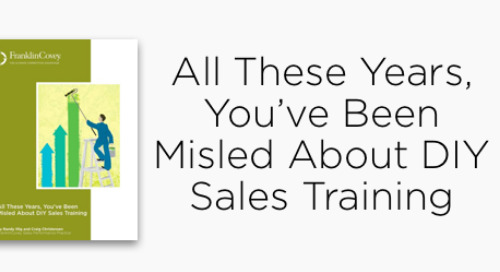 DIY Sales Training