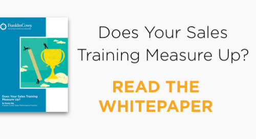 Does Your Sales Training Measure Up?