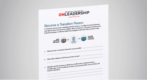 Become a Transition Person
