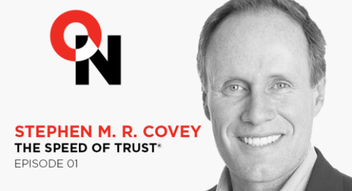 On Leadership With Scott Miller: Episode #01 Stephen M. R. Covey