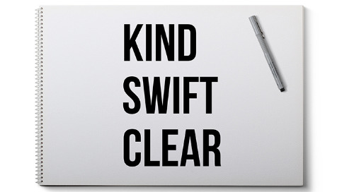 Kind. Swift. Clear.