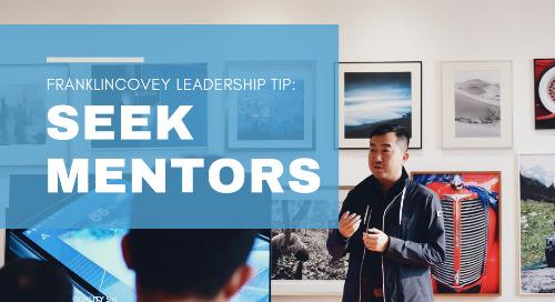 Seek Mentors