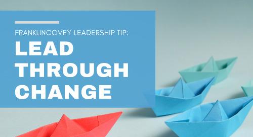 Lead Through Change