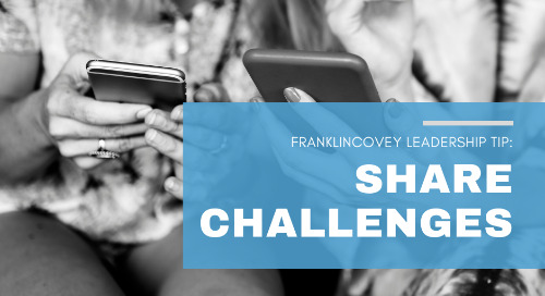 Share Your Challenges