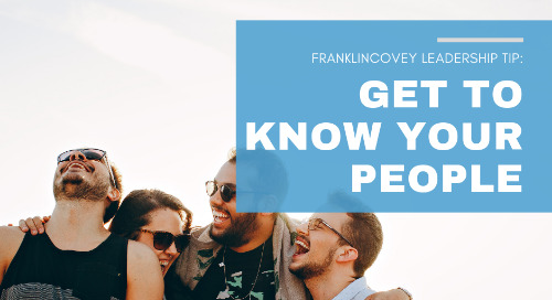 Get to Know Your People